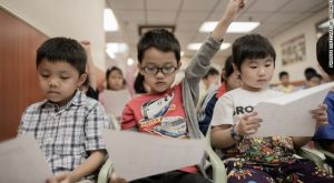 China Now World's No. 3 Education Hub